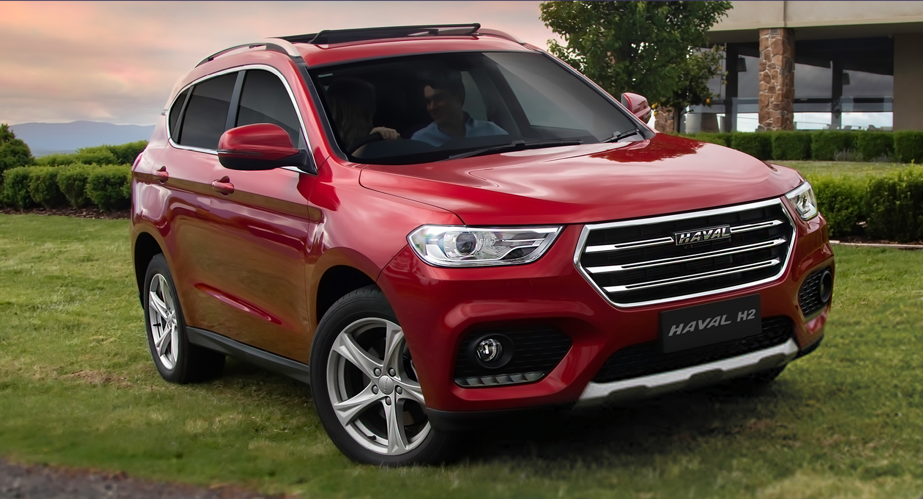 Meet our newest franchise... Haval!